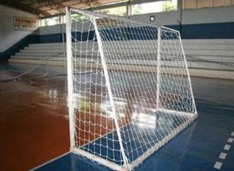Rede Futsal Oficial Par Fio 4 Seda Rede De Gol Profissional  - Vitoria Esportes