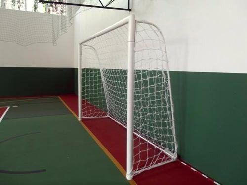 Rede Para Goleiras Futsal Oficial Fio 3 Seda Profissional