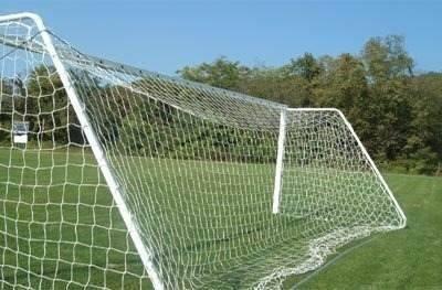 Rede Para Goleiras De Futebol De Campo Oficial Fio 3 Seda  - Vitoria Esportes