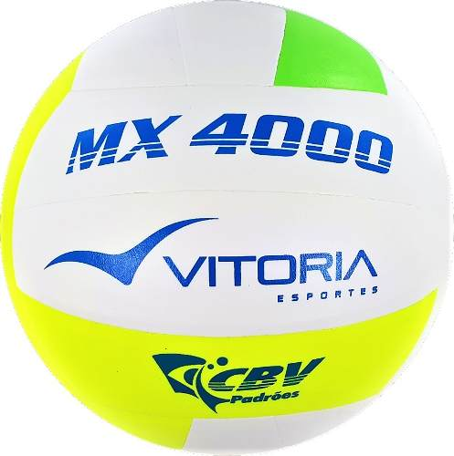 Bola Volei Oficial Vitoria Mx4000 - 2 Unidades  - Vitoria Esportes