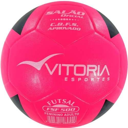 7f91eb18e803e Bola Futsal Vitória Oficial Feminina Sf Max 500 Profissional - Vitoria  Esportes