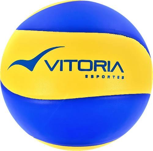 kit Treinamento 1 Bola Volei Oficial Vitoria + 9 Acessórios