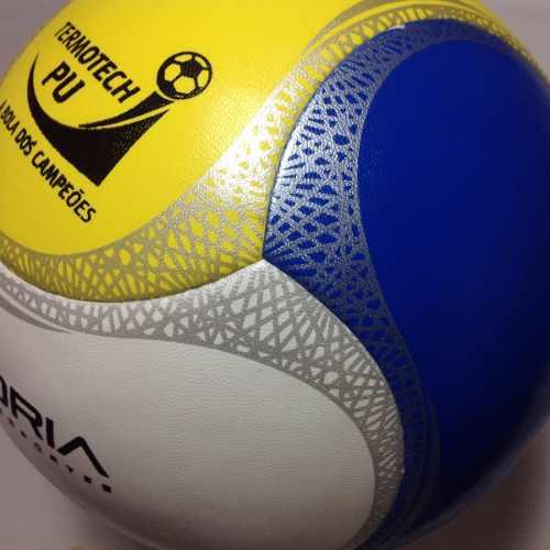 Bola Futsal Vitória Oficial Termotech Pu 6 Gomos 2 Unidades  - Vitoria Esportes