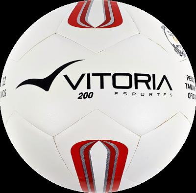 kit 3 Bolas Futsal Vitória Oficial Prata Maxi 200 Infantil Sub 13  - Vitoria Esportes