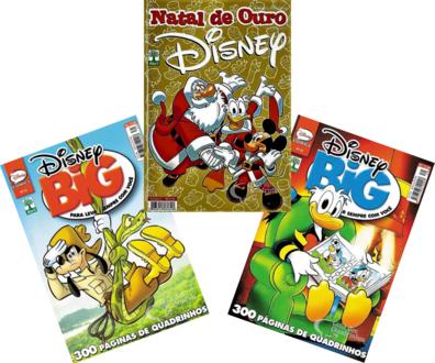 3 Hqs Disney Especial Sortidos Gibi Quadrinhos  - Vitoria Esportes