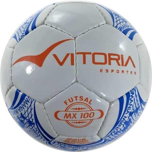 Bola Futsal Vitória Oficial Costurada Sub 11 Max 100 (mirim)