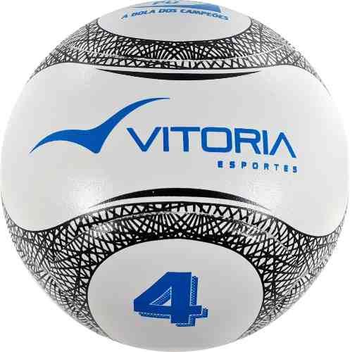Kit 4 Bolas Futebol De Campo Nº 4 Sub 14 Oficial Termotec Pu  - Vitoria Esportes