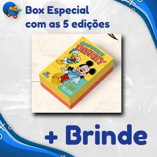 Box Especial 5 Novas Edições Lançamento Disney 2019 Nº 0 Zero  - Vitoria Esportes
