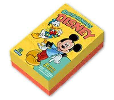 Box Especial 5 Novas Edições Lançamento Disney 2019 Nº 0 Zero