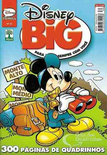 Hq Disney Big Especial Edição Nº 30 Gibi Quadrinhos 300 Pg