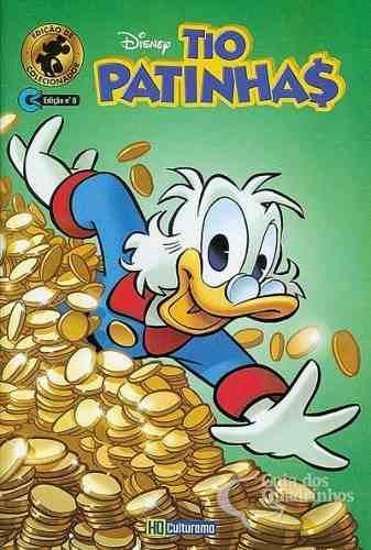Revista Gibi Em Quadrinhos Tio Patinhas Nº 0 Hq Disney 2019  - Vitoria Esportes