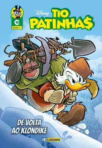 Revista Gibi Em Quadrinhos Tio Patinhas Nº 1 Hq Disney 2019  - Vitoria Esportes