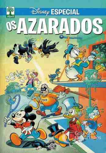 Revista Hq Gibi - Disney Especial Azarados - Quadrinhos  - Vitoria Esportes