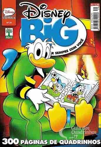 Hq Disney Big Especial Edição Nº 29 Gibi Quadrinhos 306 Pg  - Vitoria Esportes
