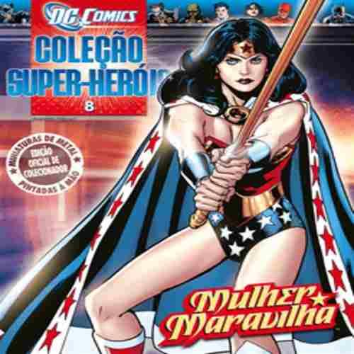 Revista Dc Comics - Mulher Maravilha Eaglemoss  - Vitoria Esportes