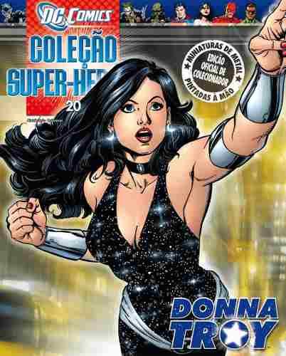 Revista Dc Comics Edição Especial - Donna Troy Eaglemoss  - Vitoria Esportes