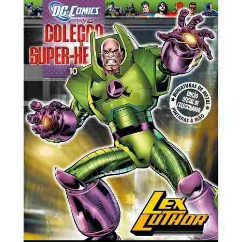 Revista Dc Comics Edição Especial - Lex Luthor Eaglemoss  - Vitoria Esportes