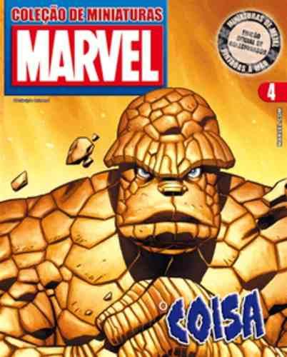 Revista Marvel Edição Especial - O Coisa Eaglemoss  - Vitoria Esportes