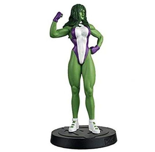 Revista Marvel Miniatura Mulher Hulk Eaglemoss  - Vitoria Esportes