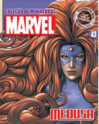 Revista Marvel Edição Especial - Medusa Eaglemoss  - Vitoria Esportes