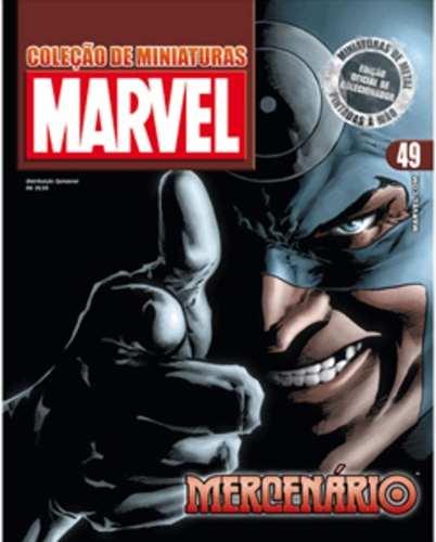 Revista Marvel Edição Especial - Mercenario Eaglemoss  - Vitoria Esportes