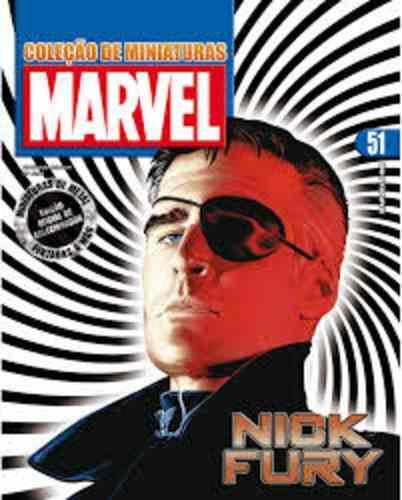 Revista Marvel Edição Especial - Nick Fury Eaglemoss  - Vitoria Esportes