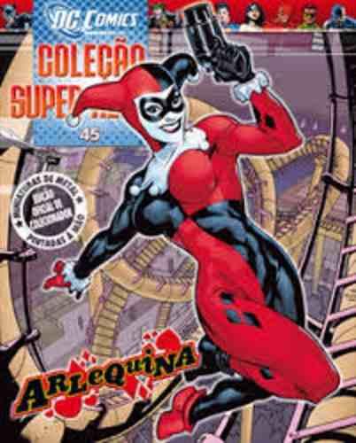 Revista Dc Comics Edição Especial - Arlerquina Eaglemoss  - Vitoria Esportes