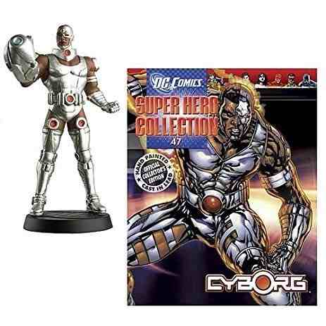 Revista Dc Comics Edição Especial - Cyborg Eaglemoss  - Vitoria Esportes