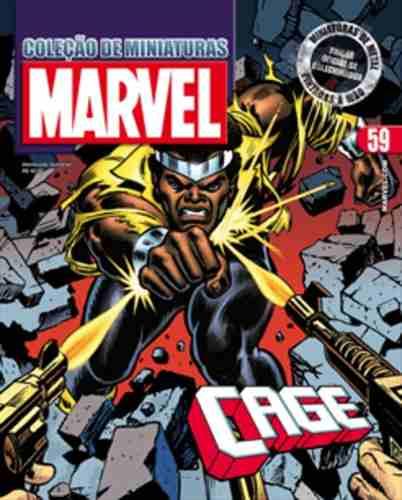 Revista Marvel Edição Especial - Luke Cage Eaglemoss  - Vitoria Esportes