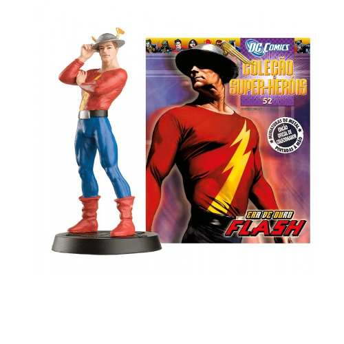 Revista Dc Comics - Jay Garrick The Flash Eaglemoss  - Vitoria Esportes