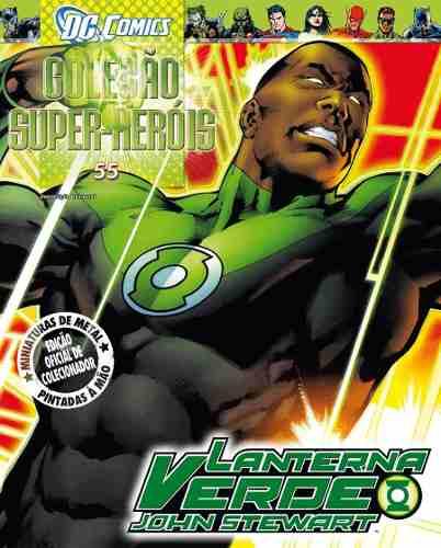 Revista Dc Comics - John Stewart O Lanterna Verde Eaglemoss  - Vitoria Esportes