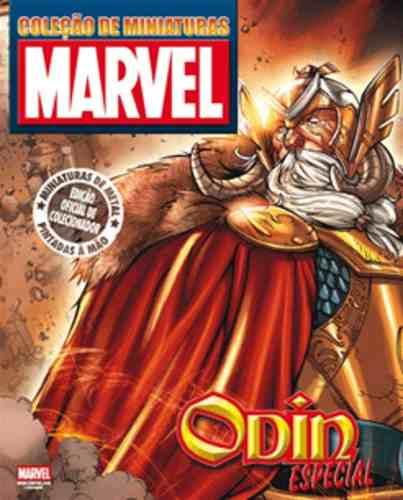 Revista Marvel Edição Especial - Odin Eaglemoss  - Vitoria Esportes