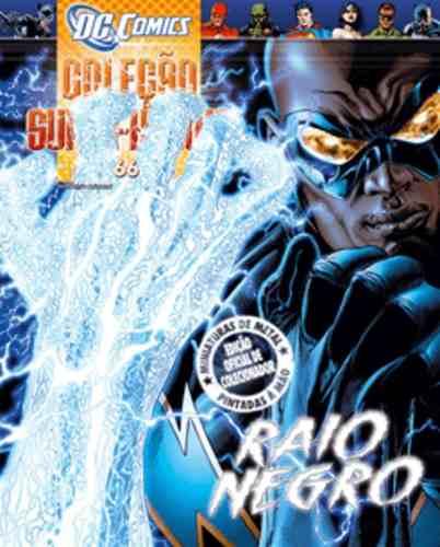 Revista Dc Comics Edição Especial - Raio Negro Eaglemoss  - Vitoria Esportes