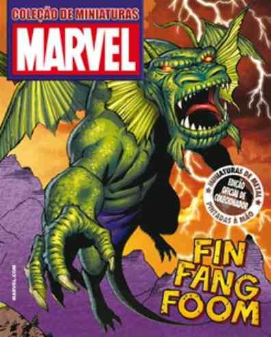 Revista Marvel Edição Especial - Fin Fang Foom Eaglemoss  - Vitoria Esportes