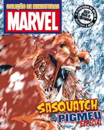 Coleção Marvel Especial - Sasquatch & Pigmeu - Eaglemoss  - Vitoria Esportes