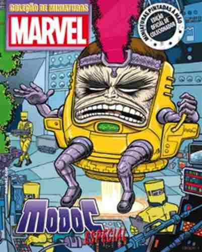 Revista Marvel Especial - Modoc - Eaglemoss  - Vitoria Esportes