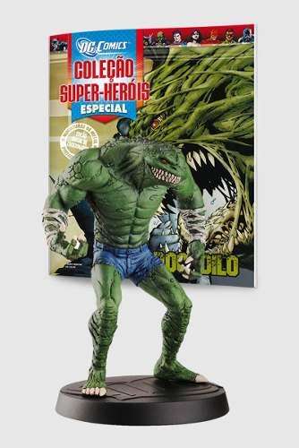 Revista Dc Comics Edição Especial - Crocodilo Eaglemoss  - Vitoria Esportes