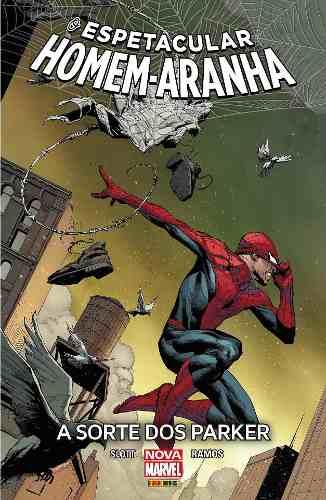 O Espetacular Homem Aranha : A Sorte Dos Parker HQ  - Vitoria Esportes