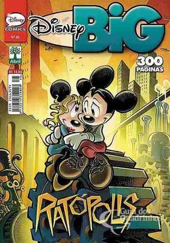 Revista Hq Gibi - Disney Big Ratópolis N° 45 - Quadrinhos  - Vitoria Esportes
