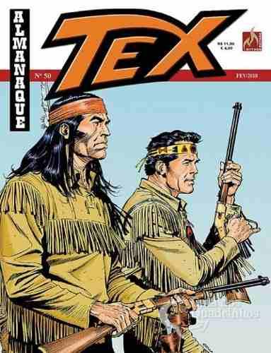 Revista Hq Gibi - Tex Almanaque 50 - Presidiário Modelo  - Vitoria Esportes