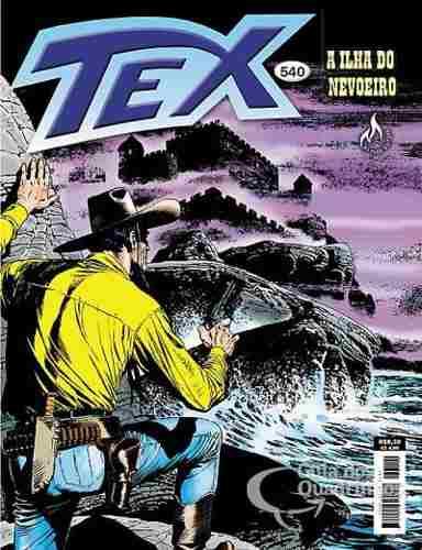 Hq Gibi - Tex Mensal 540 - A Ilha Do Nevoeiro  - Vitoria Esportes