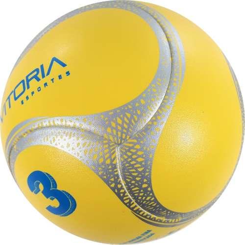 Kit 4 Bolas Futebol De Campo Nº 3 Sub 12 Oficial Termotec Pu  - Vitoria Esportes