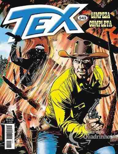 Revista Hq Gibi - Tex Mensal 543 - Limpeza Completa  - Vitoria Esportes