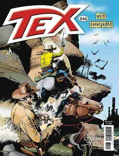 Revista Hq Gibi - Tex Mensal 544 - Fuga Desesperada  - Vitoria Esportes