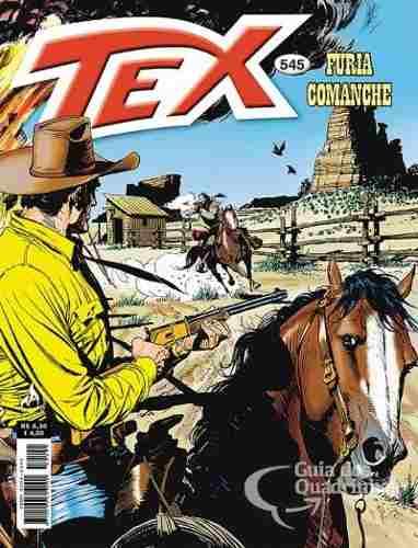 Hq Gibi - Tex Mensal 545 - Fúria Comanche  - Vitoria Esportes
