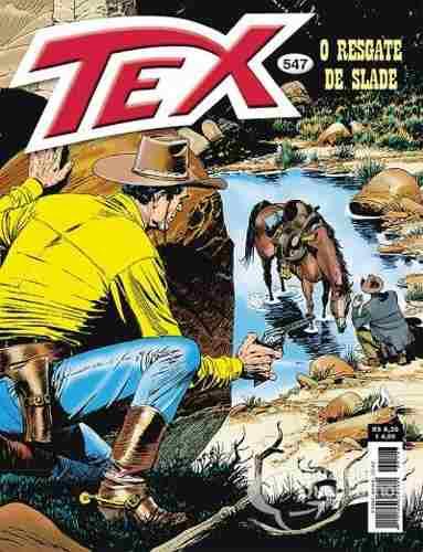 Hq Gibi - Tex Mensal 547 - O Resgate De Slade  - Vitoria Esportes