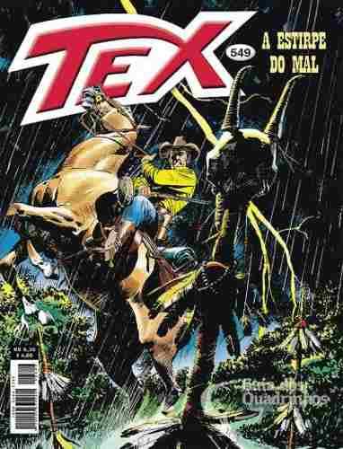 Revista Hq Gibi - Tex Mensal 549 - A Estirpe Do Mal  - Vitoria Esportes