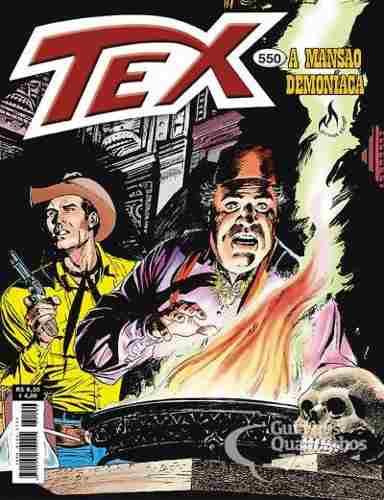 Revista Hq Gibi - Tex Mensal 550 - A Mansão Demoníaca  - Vitoria Esportes