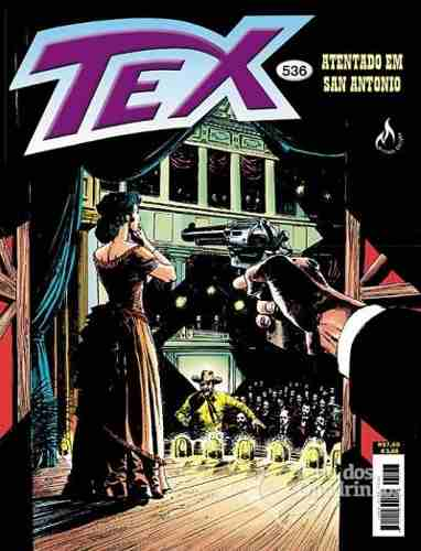 Revista Hq Gibi - Tex Mensal 536 - Atentado Em San Antonio  - Vitoria Esportes