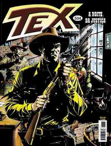 Revista Hq Gibi - Tex Mensal 534 - A Noite Da Justiça  - Vitoria Esportes